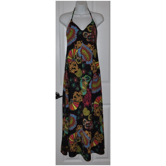 bee9c0fd621 TRINA TURK Under The Sea Jersey Maxi Dress  A3 . M 5b5d23a03e0caa0f586f3d59